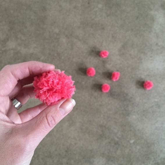 making Pompoms