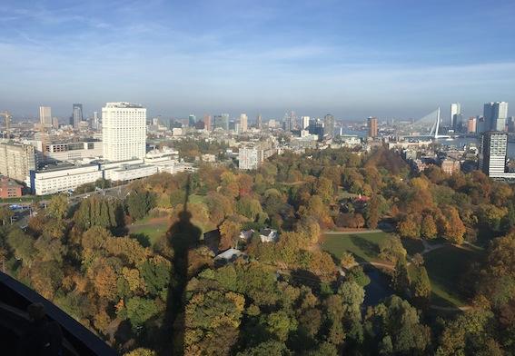Rotterdam vanuit de Euromast